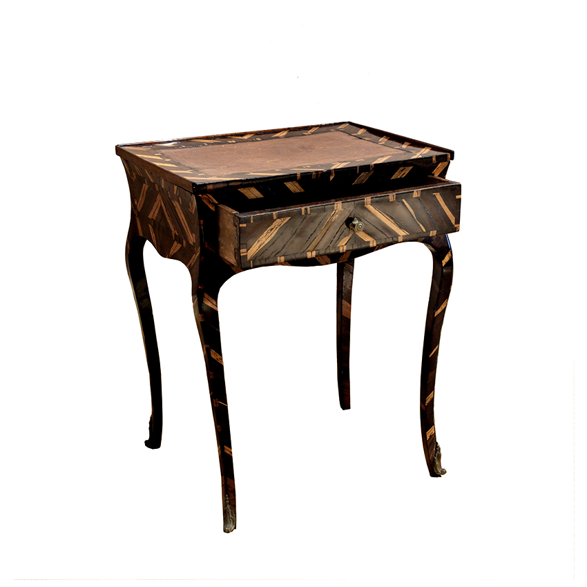 Venetian Rococo Period Cocus Wood Writing Table