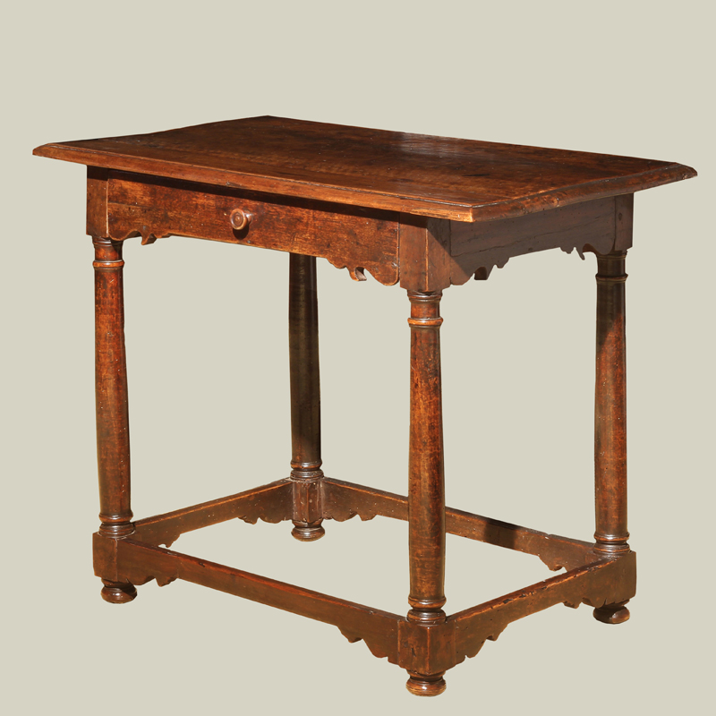 Italian baroque walnut side table foster gwin art and antiques san francisco - Table baroque conforama ...