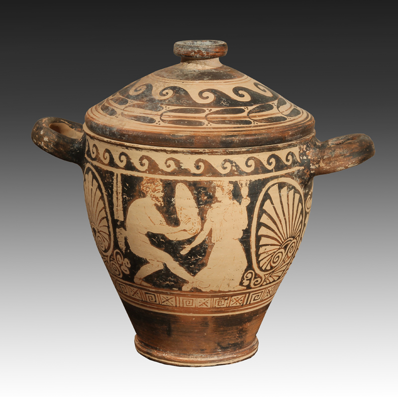 Faliscan Red-Figured Skyphoid Krater