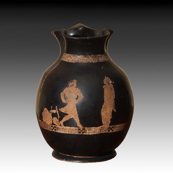 Attic Red Figured Chous Oinochoe