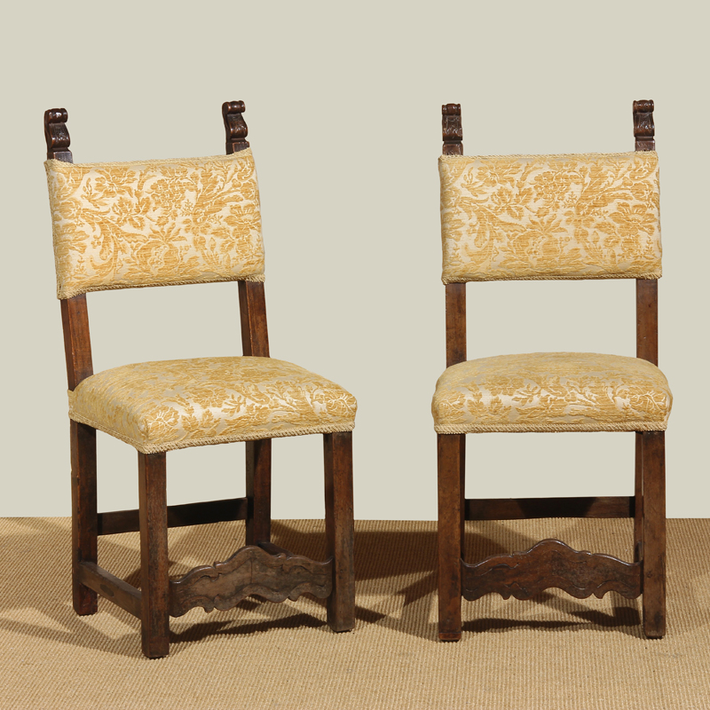 Italian Baroque Period Side Chairs