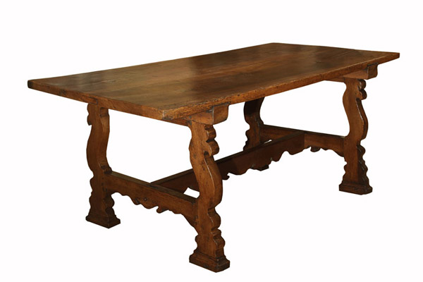 Italian Walnut Baroque Period Table