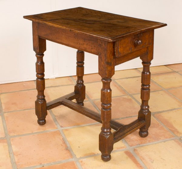 Louis XIV Nicely Figured Walnut Small Table