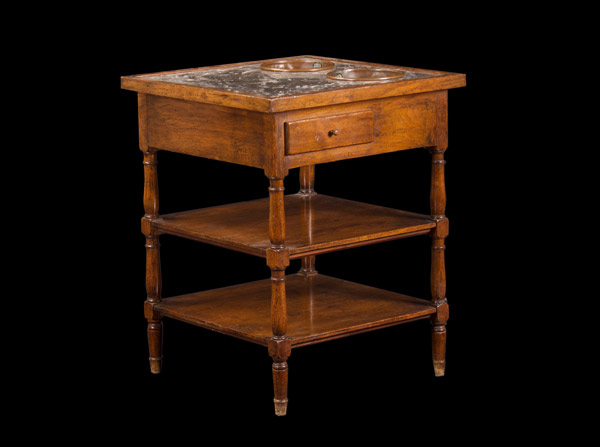 French Directoire Period Walnut Wine Table