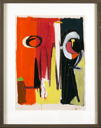 "John Grillo, 22"" x 16"" (framed 29"" x 23""), 1946"
