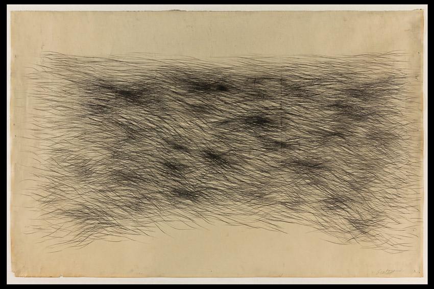 Sonia Gechtoff, 60.5″ x 40.5″