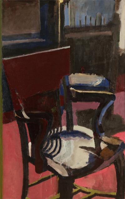 Bruce McGaw, 1961, 65.5″ x 41.5″