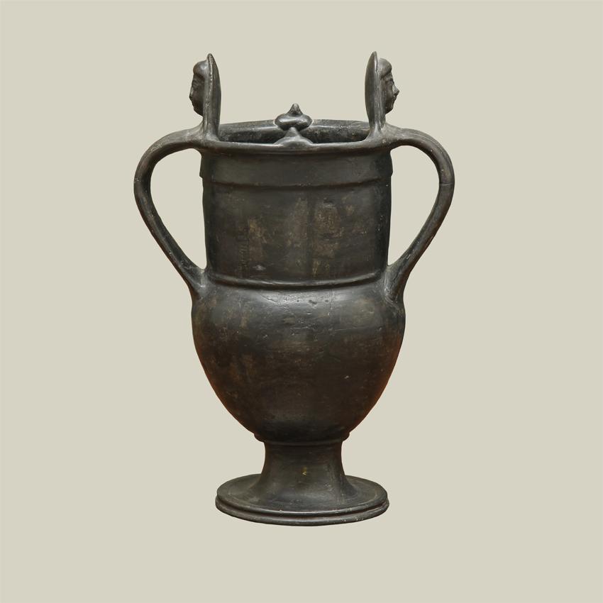 Etruscan Bucchero Amphora