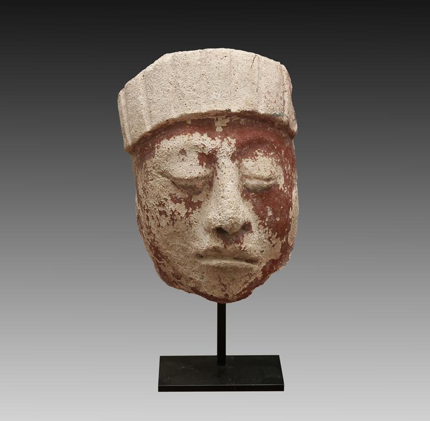 Mayan Stucco Head