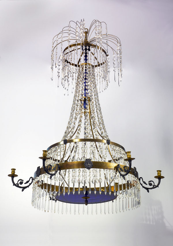 Swedish Neoclassic Period Chandelier