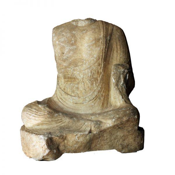 Chinese Tang Dynasty Marble Buddha