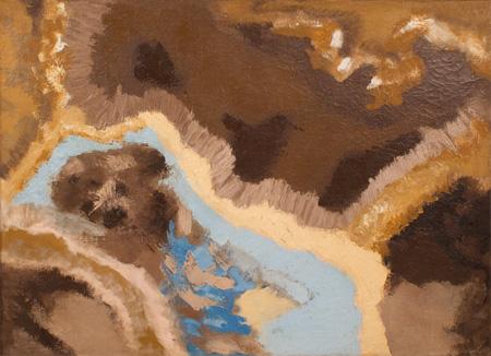 Ronald Bladen, ca.1956, 30″ x 40″