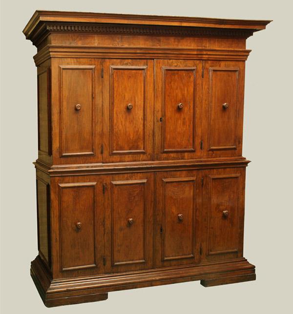 Northern Italian Baroque Period Walnut Doppio Corpo…<s>$45,000</s> /<b>$32,000</b>