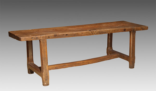 French Oak Work Table