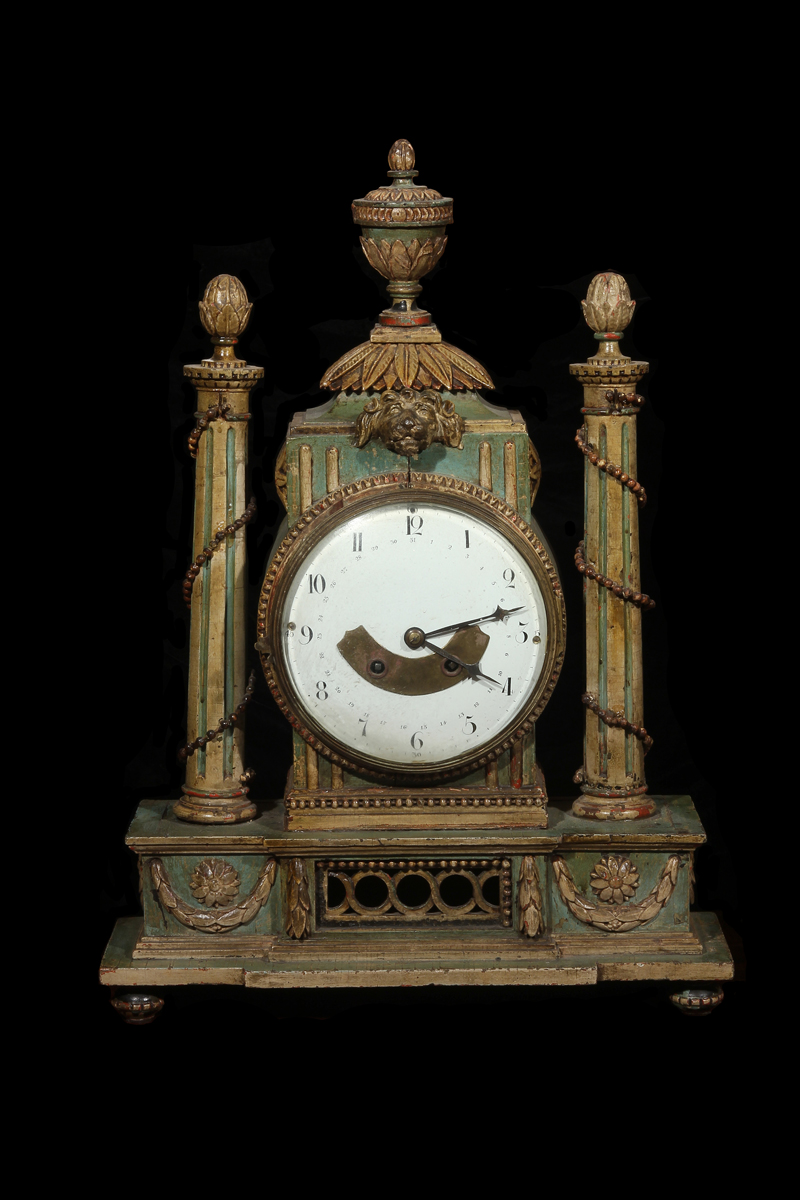 Unusual Painted Mantle Clock…<s>$15,000</s> / <b>$6,000</b>