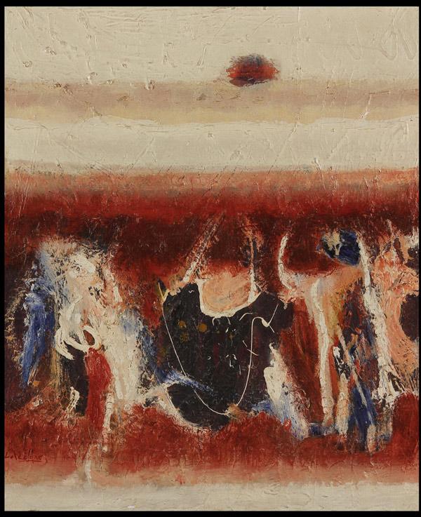 Lawrence Calcagno, 1958-61, 30″ x 25″