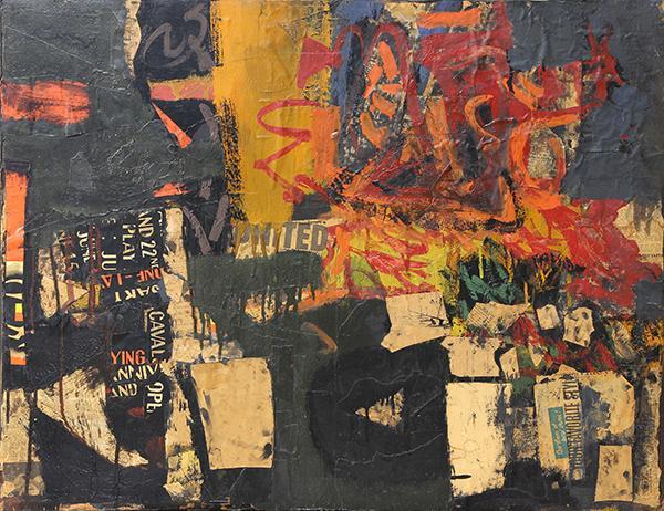 Roy De Forest, 1950-1954, 30″ x 38″