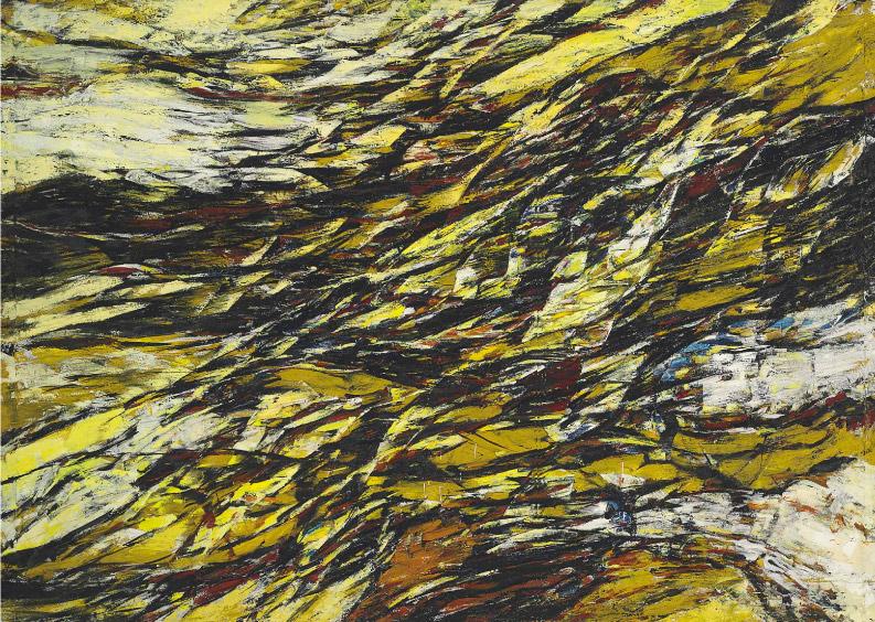 Ernest Briggs, 1955, 125″ x 89″