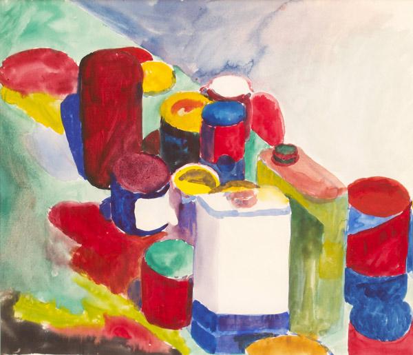 Bruce McGaw, 1959, 14″ x 16″