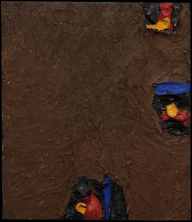 Ronald Bladen, 1958, 33.5″ x 29″