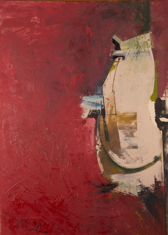 Hassel Smith, 1961, 68″ x 48″