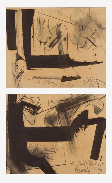 Hassel Smith, 1963, 15″x 20″ (2)