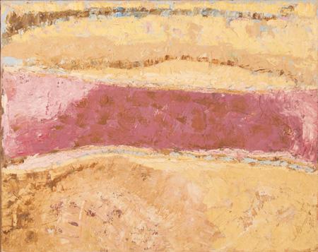 Ronald Bladen, ca.1956, 27″ x 24″