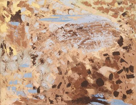 Ronald Bladen, ca. 1956, 27″ x 34″