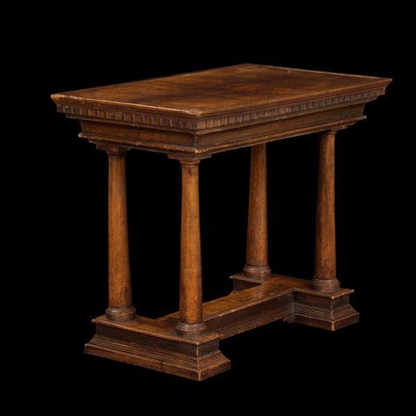 Italian Renaissance Style Walnut Table…<s>$6,500</s> / <b>$2,200</b>