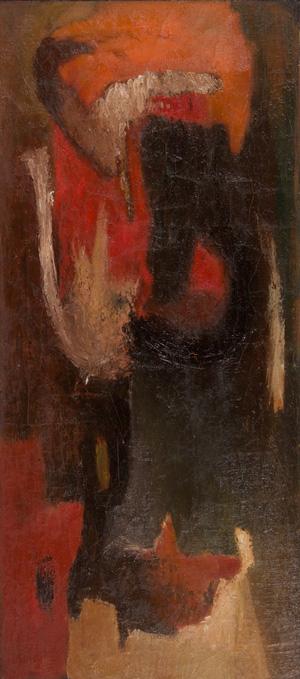 George Abend, 1948, 39″ x 17.5″