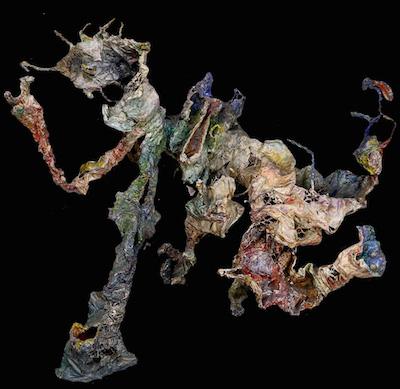Bernard Schultze, 1964, 36″h x 39″w x 10″d