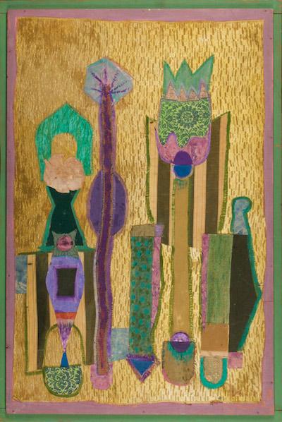 Jean Varda, 1960's, 50″ x 34″