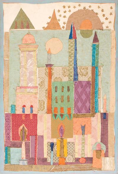Jean Varda, 1960's, 48″ x 32″