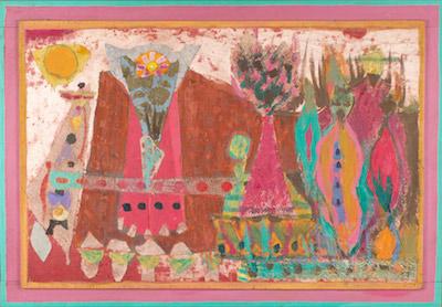 Jean Varda, 1960's, 37″ x 53″