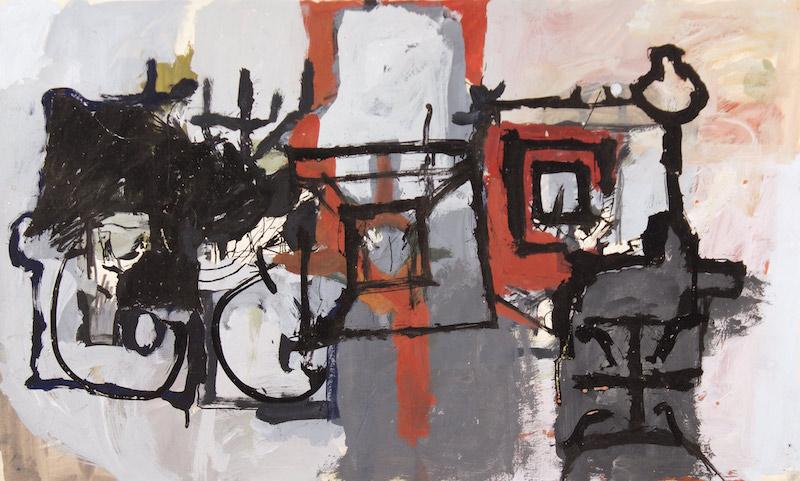 Michael Kennedy, c. 1966, 15.5″ x 25.5″