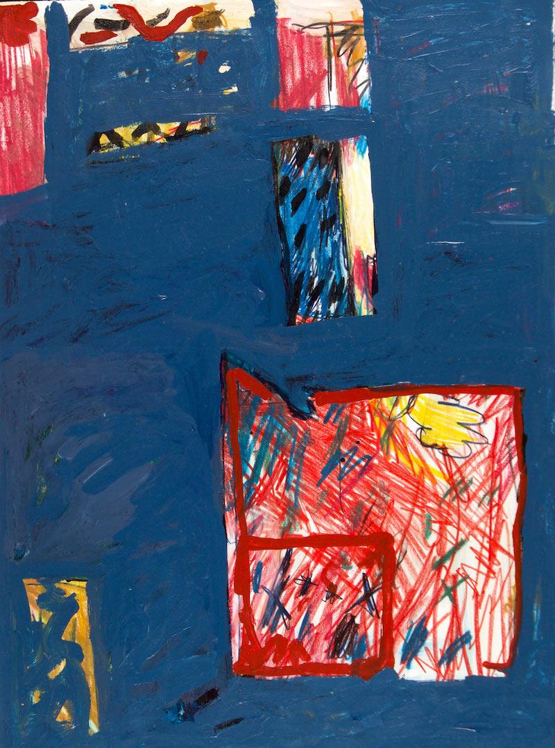 Michael Kennedy, c.1975, 30.5″ x 22.5″