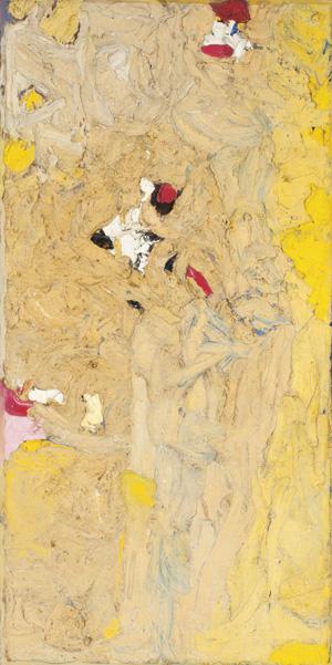 Ronald Bladen, 62.5″ x 31″, 1957-58