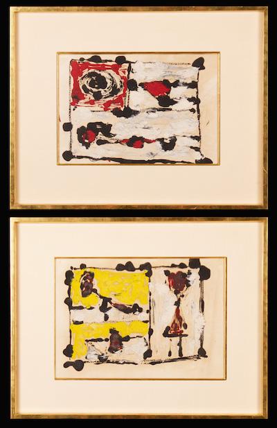 George Stillman, 1949, 19″ x 25″ (framed)