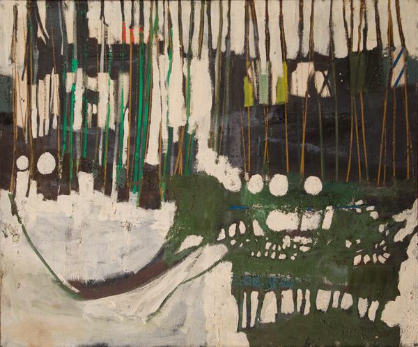 John Hultberg, 1950, 36.5″ x 30.5″