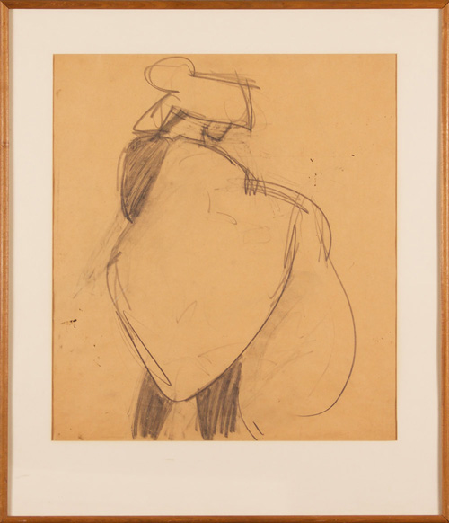 Hassel Smith, 1943, 22″ x 20″