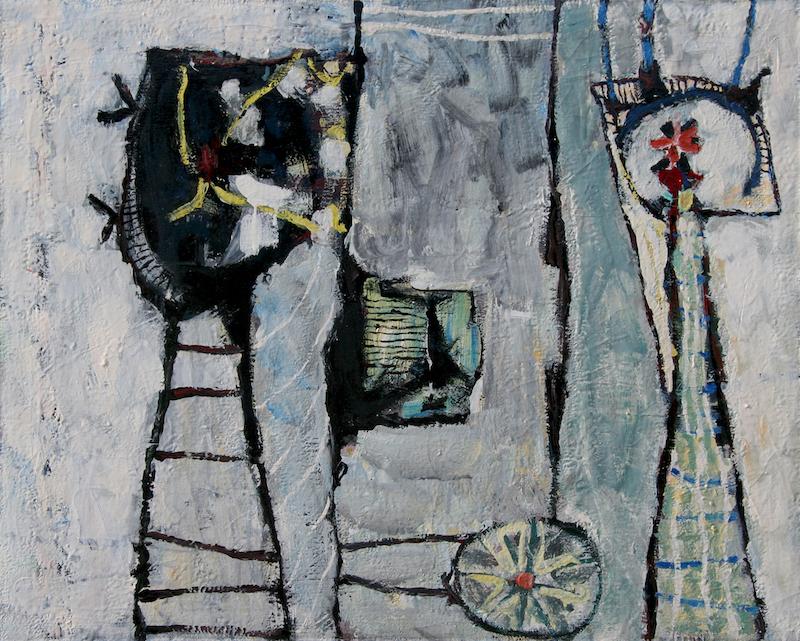 Fred Martin, 1948, 32″ x 40″