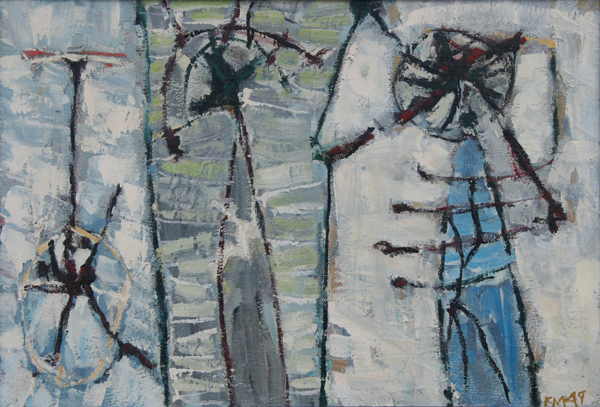 Fred Martin, 1949, 28″ x 40″