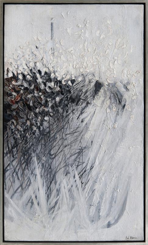 Paul Wonner, 1957, 43″ x 25″