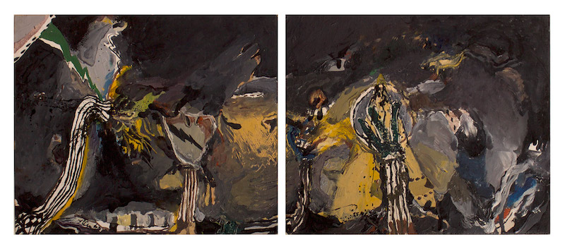 William T. Wiley, Untitled, c. 1962, 8″ x 10″