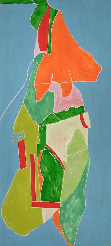 Jack Roth, Untitled, 1976, 55″ x 25″