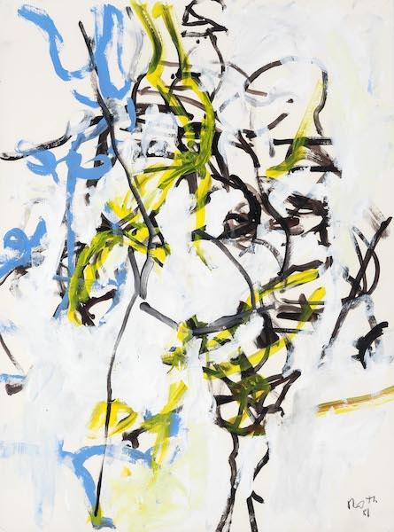 Jack Roth, Untitled, 1981, 30″ x 22″
