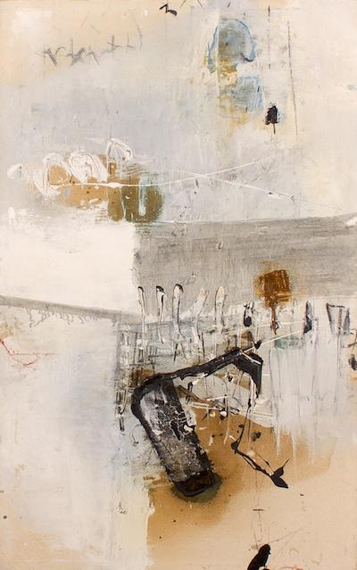 Masatoyo Kishi, 1964, oil on canvas, 43 5/8″ x 27 5/8″ (framed)