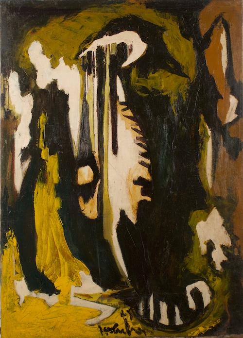 Hubert Crehan, 1949, 53″ x 38″