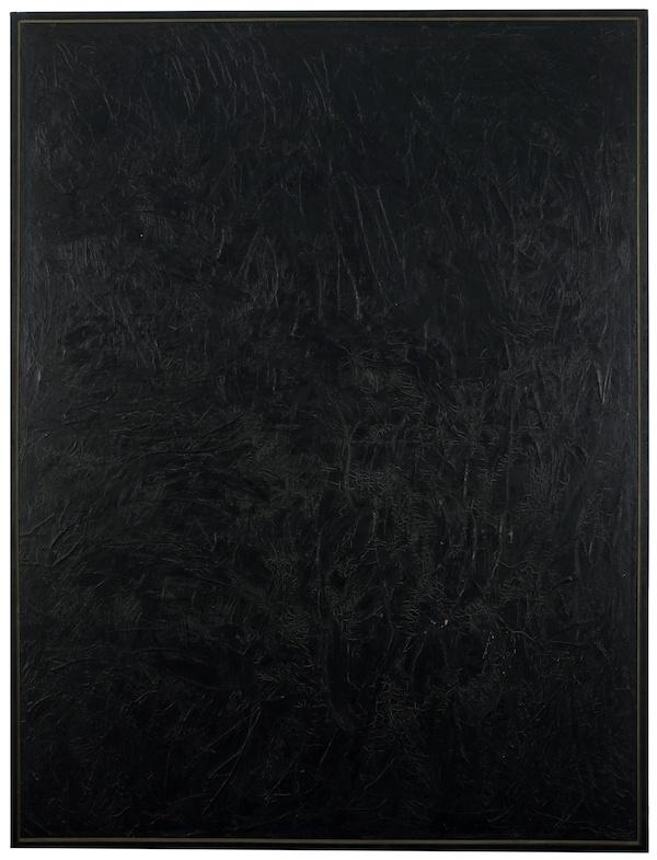 Wally Hedrick, 1965, 84″ x 65″
