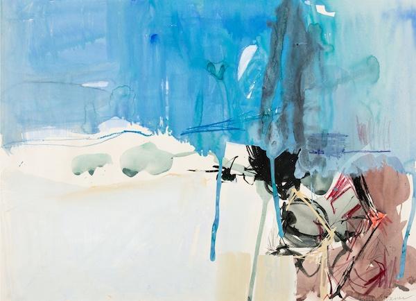 Paul Wonner, 1955-56, 18″ x 23 1/4″